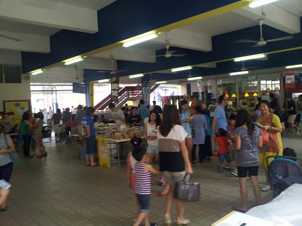 Marymount Convent School Family Carnival 2013 - look at the crowd